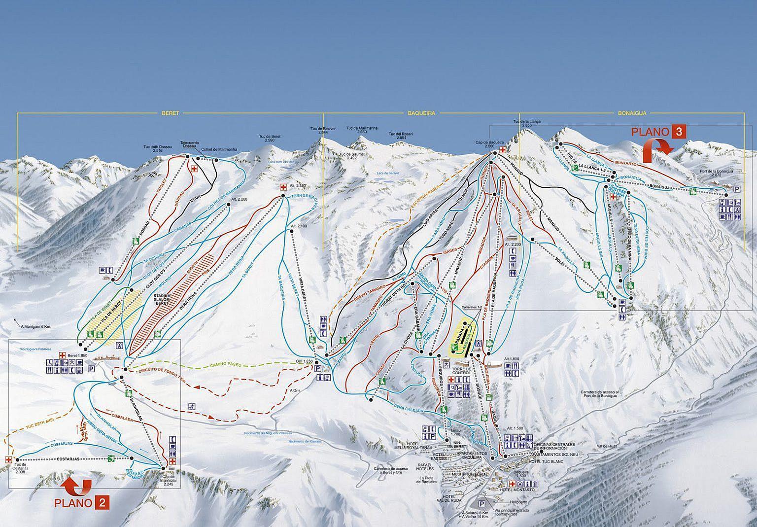 Esqui Baqueira Beret